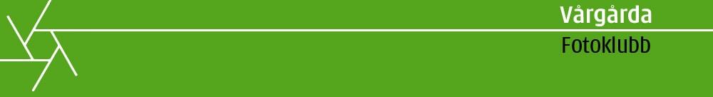 Webbplats för Vårgårda fotoklubb